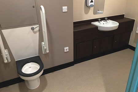 'Dementia-friendly' toilet seats for Daisy Hill