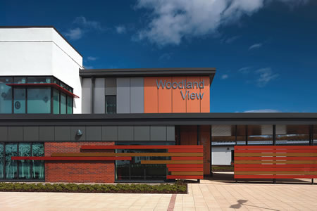 Supportive design features for Ayrshire facility