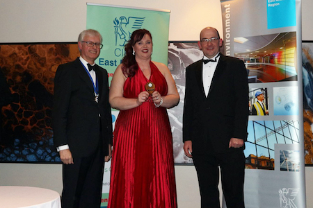 First female winner of regional construction study award